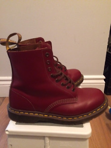 Dr Martens - Oxblood Leather Made in England