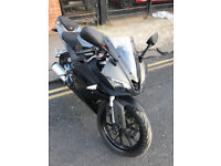 2015 ABS Yamaha YZF R-125 r125 in Grey great condition