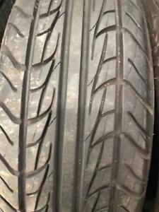 2 - Uniroyal Tiger Paw All Season Tires with Good Tread - 215/70 R15