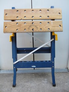 Portable work bench from Canadian Tire
