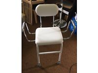 White Perching Chair for sale - very good condition