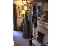 Wooden coat stand..Freestanding