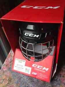 NEUF !! Casque de Hockey CCM HT06 - Couleur noir