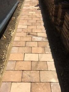 20sqm of beautiful sandtstone colour garden pavers Erskineville Inner Sydney Preview