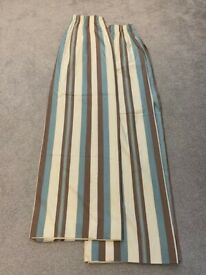 Fully Lined Curtains - Excellent Condition