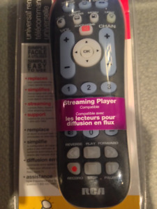 Universal Remote - Streaming player - 3 Devices