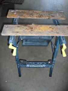 good condition Jobmate Workmate and step ladder Williams Lake Cariboo Area image 1