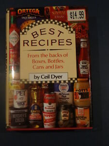 Best Recipes from the Backs of Boxes, Bottles, Cans and Jars Kitchener / Waterloo Kitchener Area image 1