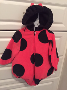 Toddler Lady Bug Halloween Costume Size 12 months