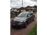 Volkswagen Golf Plus Luna 1.9 TDI 105, registered 2008