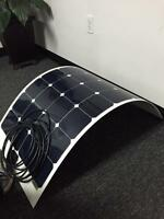 Flexible 100 WATT SOLAR panels for BOATS or RV's