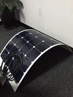 Flexible 100 WATT SOLAR panels for BOATS or RV's