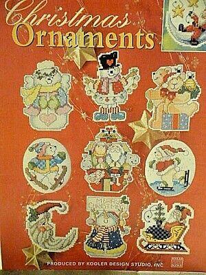 78 CROSS STITCH DESIGNS CHRISTMAS ORNAMENTS LEAFLET - KOOLER DESIGN STUDIO