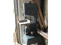 Record electric band saw