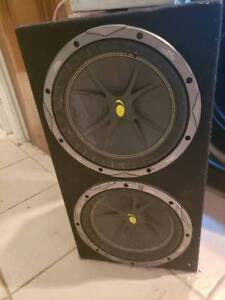 Selling Subwoofer and Amp
