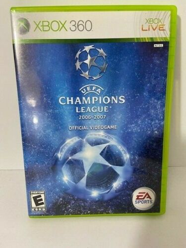 Uefa Champions League 2006-2007 (xbox 360) Pre-owned 2007 Vg