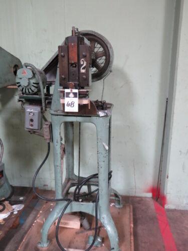 5 Ton M.D. Knowlton Power Punch Press Sheet Metal Hole Stamping