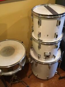 TWO TOM DRUMS