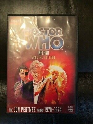 Doctor Who - Inferno (DVD, 2013, 2-Disc Set)