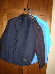 Kids Suit and three shirts