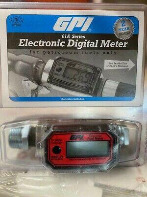 Gpi Electronic Digital Meter 01a Series