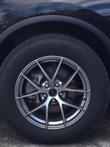 "Michelin Latitude/18"" Fast Alloy winter tires for Nissan Murano"