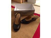 Brand new Gabor Peep Toe Wedge Heels Size 7