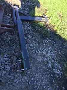 Fill auger mount for john deere no-till drill