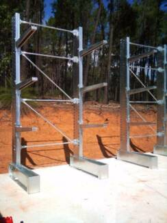 Cantilever racking , timber storage rack, steel storage rack