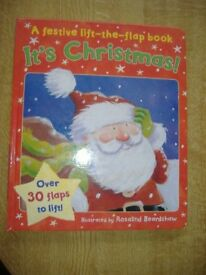 It's Christmas A Festive Lift The Flap Book