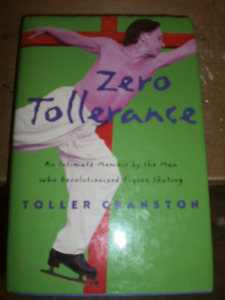 Toller Cranston signed/autographed book