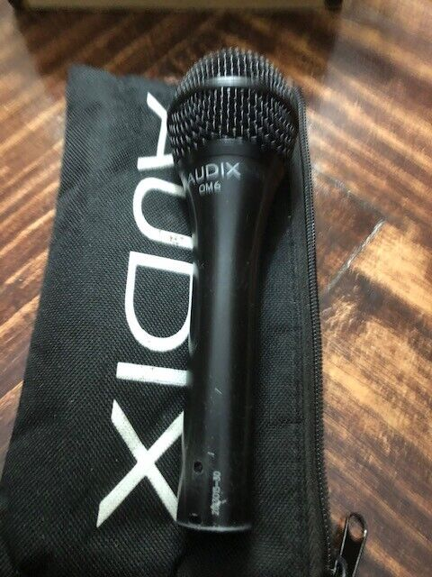 Audix OM6 Dynamic Cable Professional Microphone - $75.00