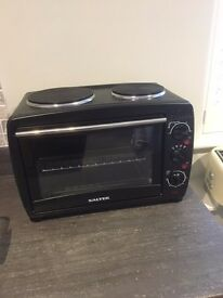 Salter 28 Litre Mini Toaster Oven with 2 Hotplate Hobs