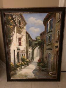 Street of Italy Oil Painting