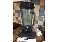 Used Nutrimaster Blender with tamping stick, no recipe booklet