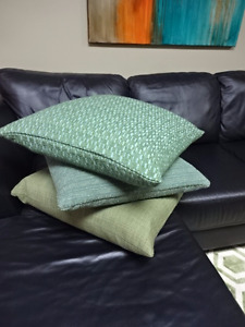 Staging mid century modern pillows