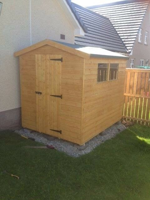 SALE: 8ft x 6ft Wooden Garden Shed