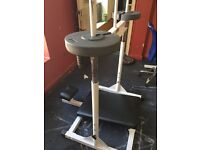 Commercial Vertical Leg Press Plate Loaded with 40kg weight (discs)