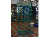 Green Metal Shelf Racking