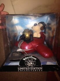 Wallace and Gromit limited edition