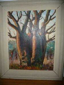 """""""BOAB"""" oil painting by VLASE ZANALIS Dianella Stirling Area Preview"""