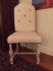 Magnifique chaise pour chambre de fille
