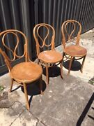 Genuine early 1900's Bentwood chairs. Northcote Darebin Area Preview