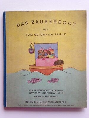 Das Zauberboot by Tom Seidmann-Freud (1929) - The Magic Boat, a moveable book