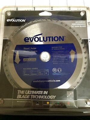 Evolution Tct 9 Steel-cutting Saw Blade