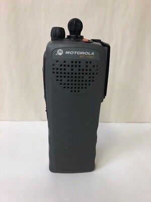 Motorola Mt 1500 Model 1.0 Portable Radio 700800 Mhz Model H67ucc9pw5an