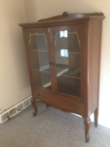 Vintage hutch or bookcase
