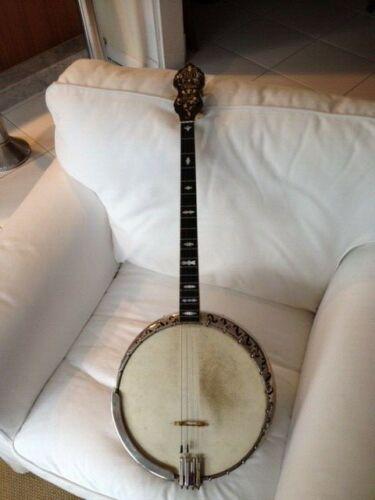 1924 Bacon Silver Bell vintage banjo