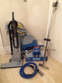 Carpet and upholstery cleaning equipment