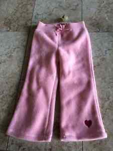 GAP fleece pants, brand new with tag, size 2T